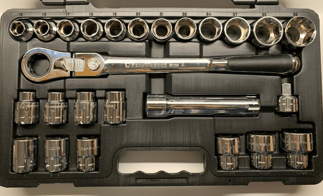 GearWrench Pass-Thru Ratschen-Set 1/2