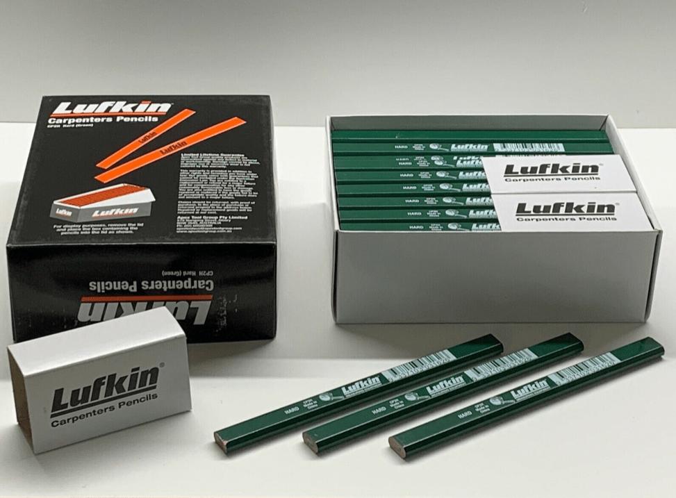 Lufkin CP2H Zimmermanns Bleistifte Top Qualität Großpack Posten