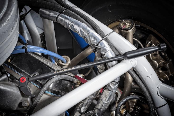 Die Pry Bar Brecheisen eigenen sich für das Bewegen von Motoren.
